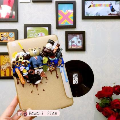 Kawaii iPad Cover, Decoden Case,Han..